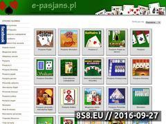 Miniaturka e-pasjans.pl (Darmowy pasjans)