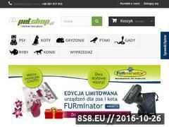 Miniaturka domeny www.e-petshop.pl