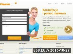 Miniaturka domeny www.e-pisanie.pl