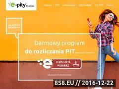 Miniaturka www.e-pity.pl (Oprogramowanie do wypełniania deklaracji PIT)