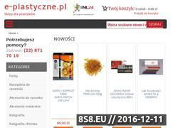 Miniaturka domeny www.e-plastyczne.pl