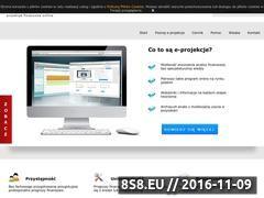 Miniaturka domeny www.e-projekcje.pl