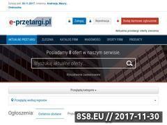 Miniaturka e-przetargi.pl (Przetargi)