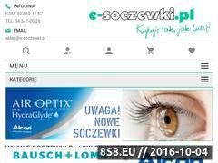 Miniaturka domeny www.e-soczewki.pl