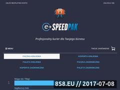 Miniaturka domeny www.e-speedpak.net