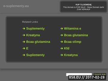 Zrzut strony E-Suplementy, błonnik (konsultacje, odchudzanie,grzybica,paraprotex,)