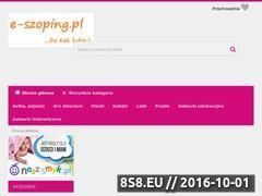 Miniaturka domeny www.e-szoping.pl
