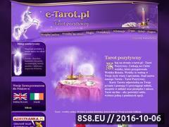 Miniaturka domeny www.e-tarot.pl