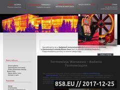 Miniaturka e-termowizja.pl (Badania termowizyjne Warszawa)