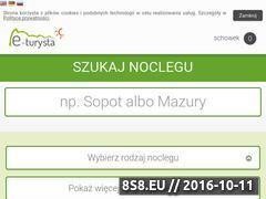 Miniaturka domeny e-turysta.pl
