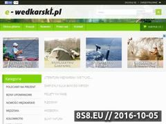 Miniaturka e-wedkarski.pl (Sklep Wędkarski)