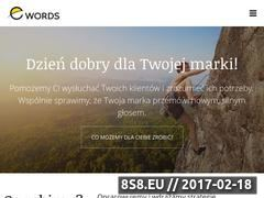 Miniaturka domeny www.e-words.pl