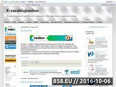 Miniaturka e-zarabiajonline.blogspot.com (Porady jak zarabiać w Internecie)