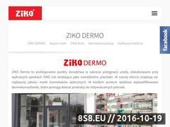 Miniaturka domeny e-zikodermo.pl