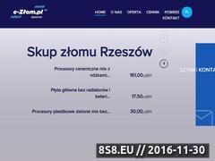 Miniaturka domeny www.e-zlom.pl