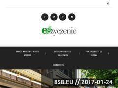 Miniaturka domeny e-zyczenie.pl