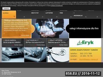 Zrzut strony Naprawa komuterów Tarnów