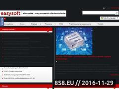 Miniaturka www.easy-soft.net.pl (Elektronika i programowanie mikrokontrolerów)