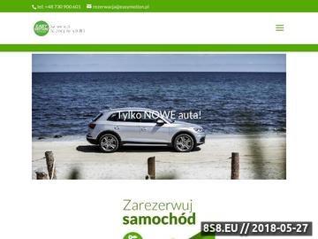 Zrzut strony Samochód na godziny Poznań
