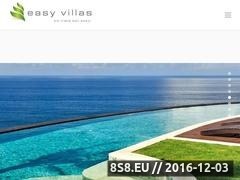 Luxury Villas Bali - Easy Villas Website