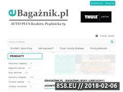 Miniaturka ebagaznik.pl (Bagażniki dachowe)