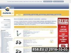 Miniaturka domeny www.ebaterie.pl