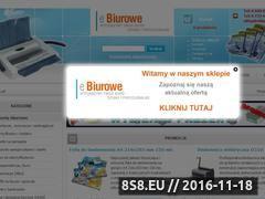 Miniaturka domeny www.ebiurowe.pl