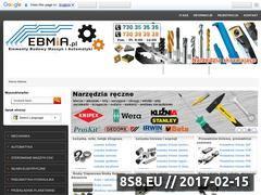 Miniaturka EBMiA - Sterowanie maszyn CNC (www.ebmia.pl)