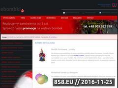 Miniaturka domeny ebombki.pl