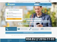 Miniaturka ebusem.pl (Busy do Holandii oraz busy do Niemiec i wynajem)