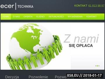 Zrzut strony Ochrona środowiska