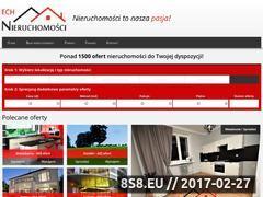 Miniaturka domeny www.echnieruchomosci.pl