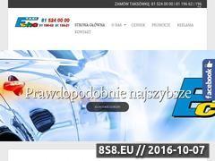 Miniaturka domeny www.echo-taxi.lublin.pl