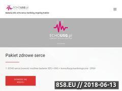 Miniaturka echousg.pl (USG 3D Kraków)