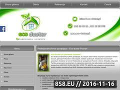 Miniaturka domeny www.eco-duster.pl