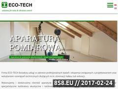 Miniaturka domeny ecotech.biz.pl