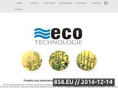 Miniaturka domeny ecotechnologie.pl