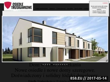 Zrzut strony Osiedle domów jednorodzinnych Łódź Nowosolna