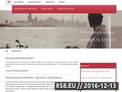 Miniaturka domeny www.edetektywi.pl