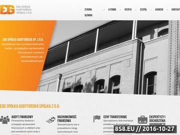 Zrzut strony W ofercie audyt finansowy i opracowanie dokumentacji podatkowej