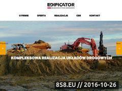 Miniaturka domeny www.edificator.com.pl