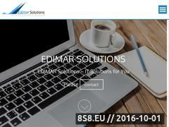 Miniaturka edimar.com.pl (Opis oferowanych systemów i wraz z krótkim opisem)