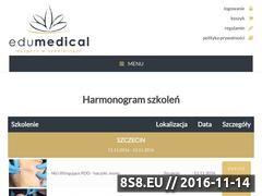 Miniaturka domeny edumedical.pl