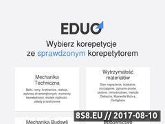 Miniaturka eduo.pl (Korepetycje z budownictwa)
