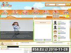 Miniaturka www.edupelzaki.pl (EduPełzaki - serwis edukacyjno-informacyjny )