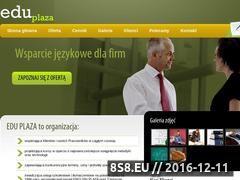 Miniaturka domeny www.eduplaza.pl