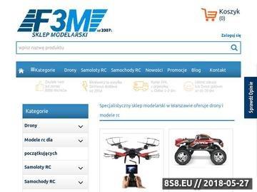 Zrzut strony Modele RC, Samoloty RC - Sklep modelarski F3M Warszawa - Modelarnia