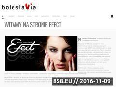Miniaturka domeny efect4you.pl
