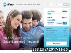 Miniaturka efino.pl (Efino - pożyczki)