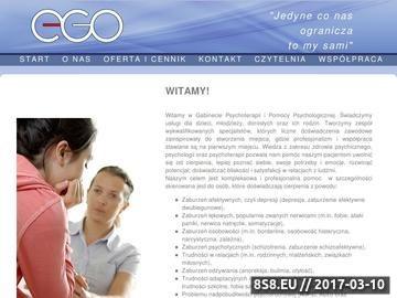 Zrzut strony Pomoc psychologiczna, psychoterapia Mysłowice - Ego
